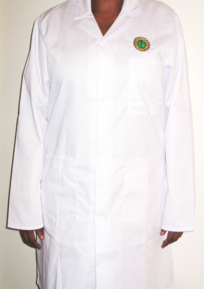 Person Wearing Medical Coat