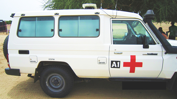 Ambulance in Africa